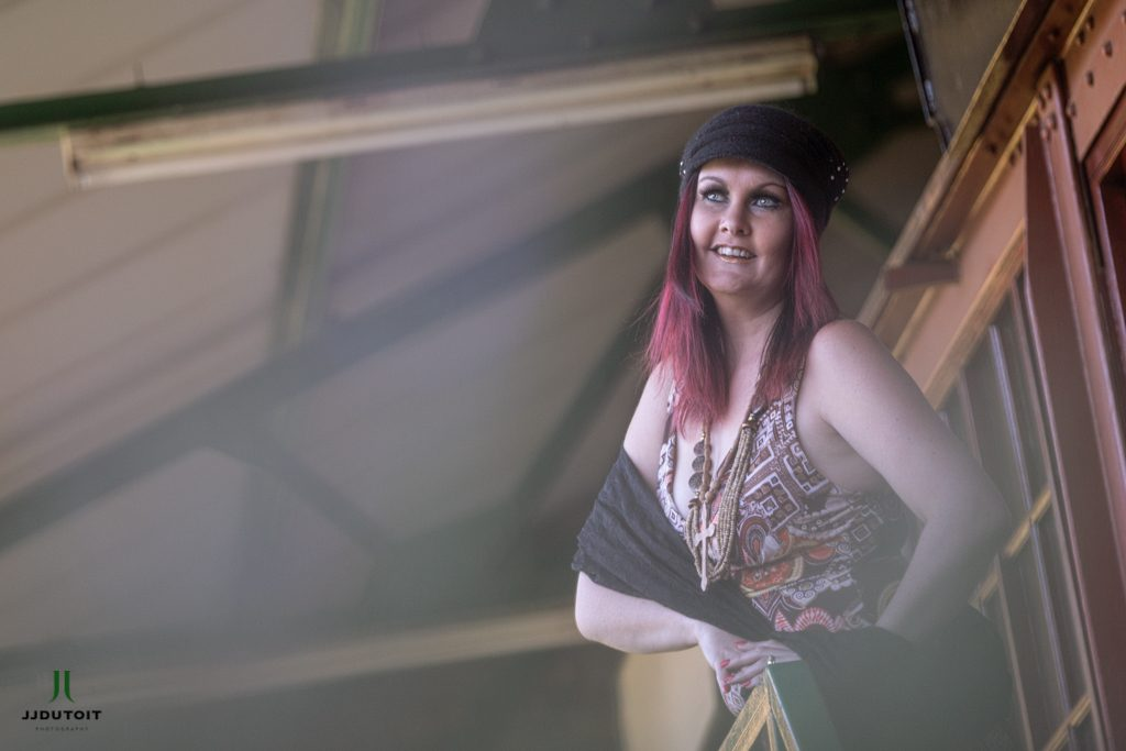 Female Model Photo Shoot, Oudewerf Auctioneers, Meyerton