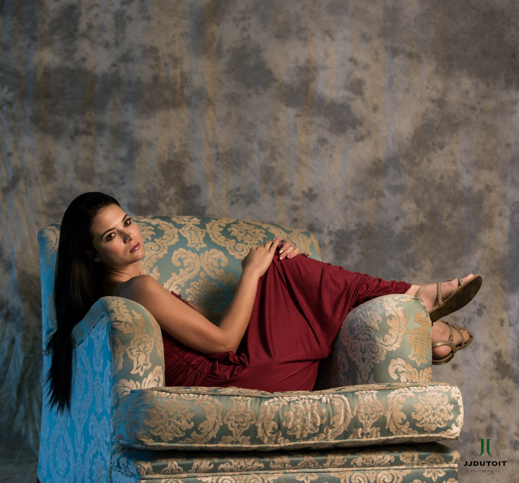 Female Model Photo Shoot of Salome Louw at the Dome near the Northgate Shopping Centre, North Riding situated in Gauteng