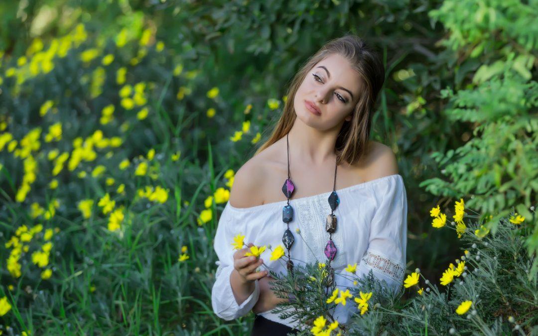 Female Model Photo Shoot of Cayle at the Walter Sisulu Botanical Garden