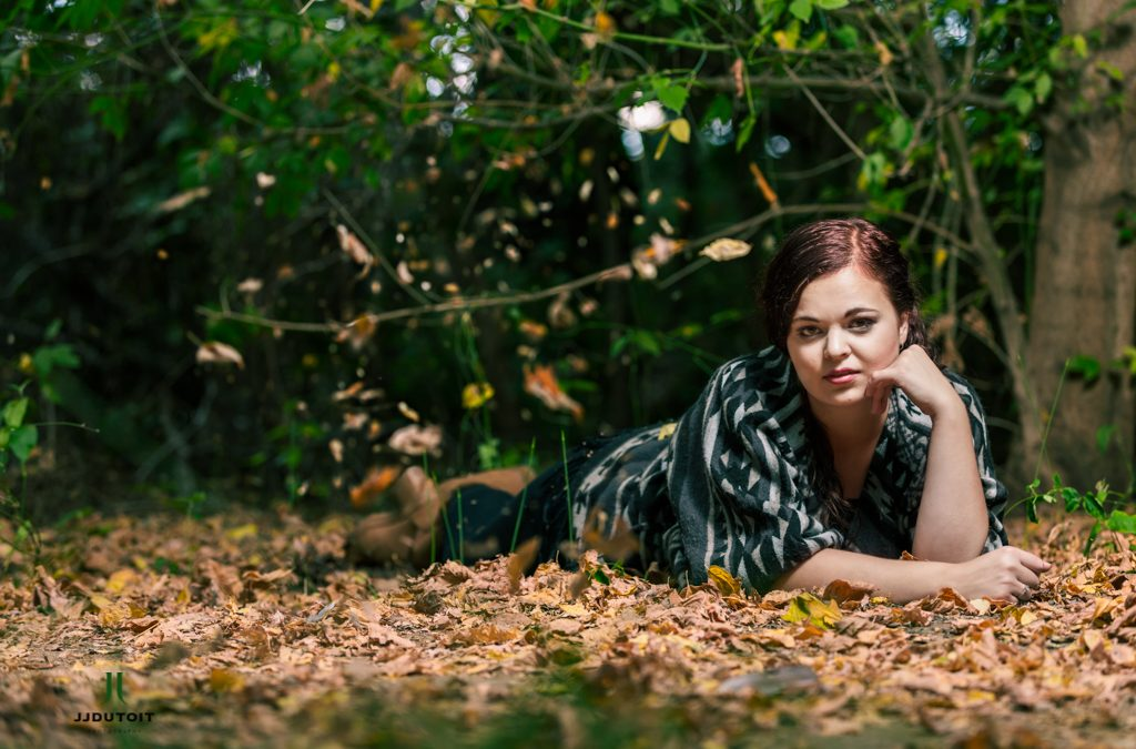 Female Model Photo Shoot of Etresia van der Merwe at the On Golden Pond Guesthouse in Potchefstroom
