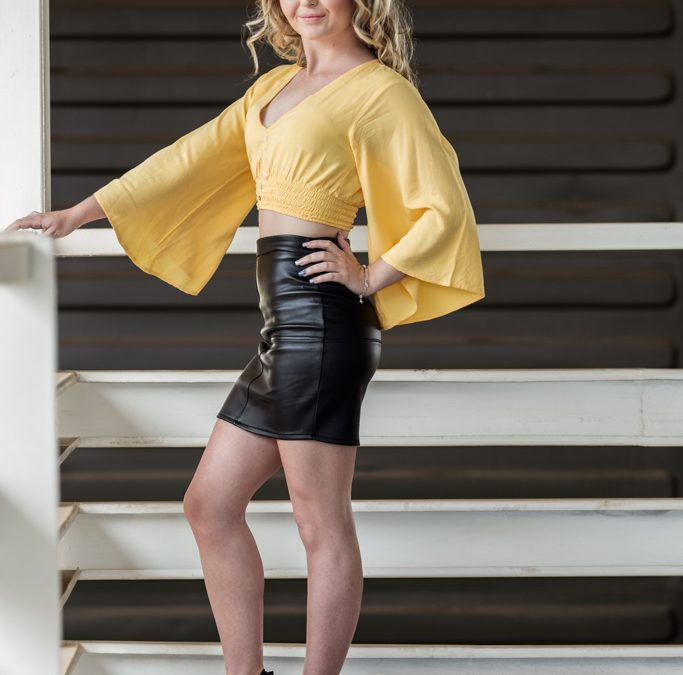 Female Model photo shoot of Lucinda Kotze at the 27 Boxes situated in Melville, Johannesburg